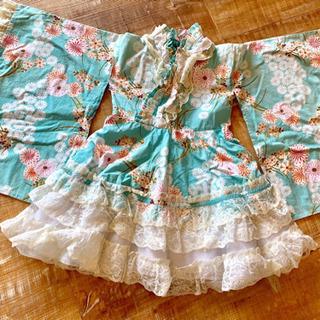 浴衣ドレス(110㎝から120㎝くらい)
