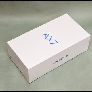 新品未開封 OPPO AX7 ゴールド CPH1903 6.2イ...