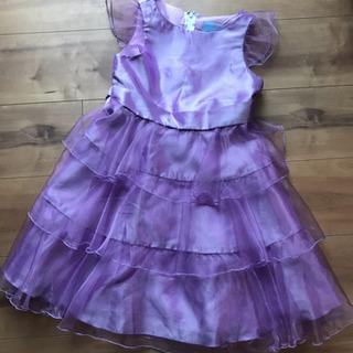 紫色のドレス 発表会 結婚式 120