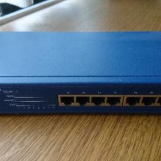PCI FX-08N SwitchingHubイーサネットハブ8×