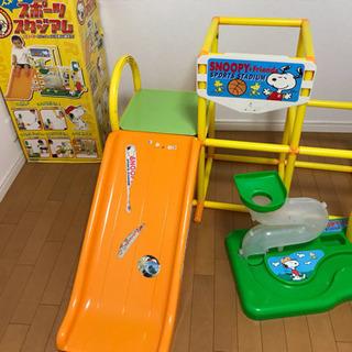 子供用室内ジャングルジム&すべり台