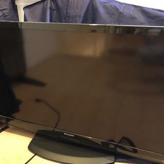 シャープの液晶テレビ40型