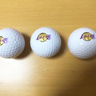 LAKERS ゴルフボール 3個セット