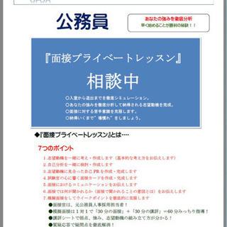チャンスの拡がった今だからこそ公務員障害者枠面接試験対策【土日可...