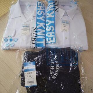 新品★鴨池中学校のシャツと体育パンツ★