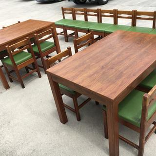 無料で!店舗用◇テーブル&椅子 大量◇椅子 16脚◇テーブル 2...