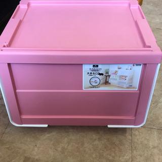 収納ボックス ピンク KABAKO