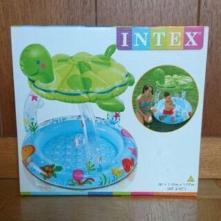 インテックス INTEX ウミガメのシェードベビープール