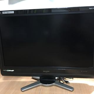 世界の亀山モデル SHARP AQUOS 32型 美品 液晶テレビ