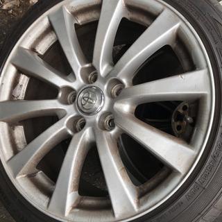 レクサス IS前期純正17インチホイール+215/45R17輸入タイヤ