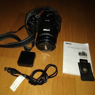 ニコン COOLPIX P900 リモコン付(送料無料)