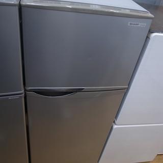 シャープ 118L冷蔵庫 SJーH12W 2014年製