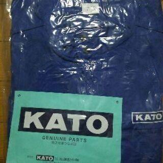 KATO純正作業つなぎ服。3L。未使用品。つなぎ服。