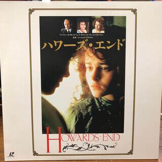 レーザーディスク/「ハワーズ・エンド」2枚組(DISC1は両面、...