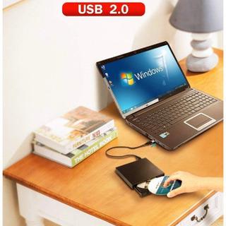 外部のcdドライブ ドライブ USB2.0 CD プレイヤー バ...