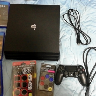 ps4 pro 1TB ゲーム3本 その他付属品