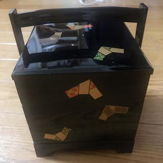 漆三段重 弁当箱 ほぼ新品