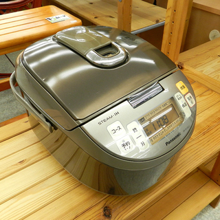 Panasonic 炊飯器 5.5合 ジャー 2013年製 スチ...