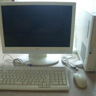 富士通デスクトップパソコンセット