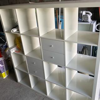 IKEA カラックス ハイグロスホワイト
