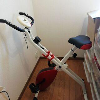 エアロバイク フィットネスバイク 折りたたみ 軽量 スポーツ器具...