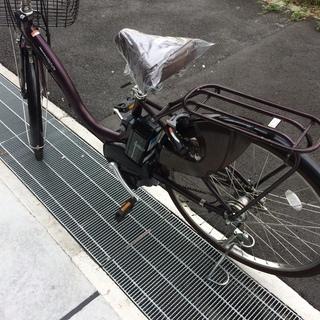 地域限定 ヤマハ パス ナチュラ 新基準 子供乗せ 紫 アシスタ ビビ 神戸市 電動自転車 - 自転車