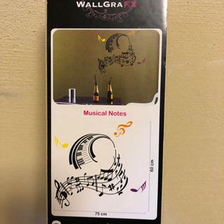 ウォールステッカー Musical Notes