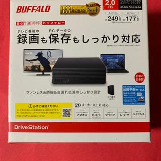 BUFFALO  HD-NRLD2.0U3-BA バッファ…