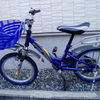 子供用自転車(男子・16インチ・補助輪あり)