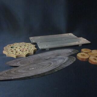 木製 敷板 花台 4つ