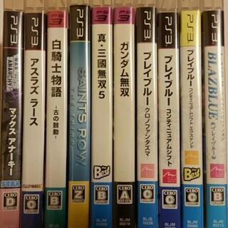 PS3 ゲームソフト 中古品 10本