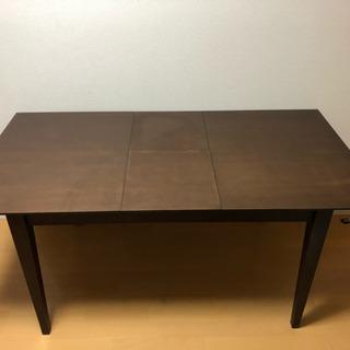 伸張式ダイニングテーブル 無料‼️