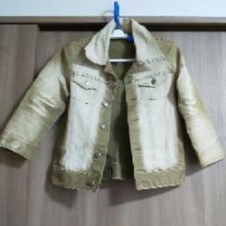 デニムジャケット 珍しいカラー