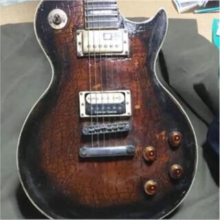 レスポール シェイプ ギター スキャロップド