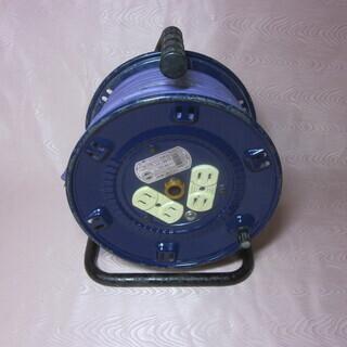コードリール 電工ドラム 紫