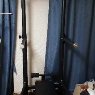 懸垂マシーン、バベルダンベル 40kg セット