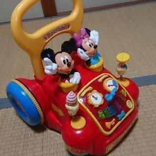 ディズニー手押し車🎵
