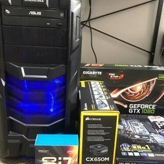 ゲーミングPC、GTX1080、i7-7700K、DDR4-16...