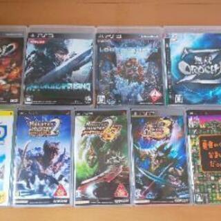 まとめ売り PS3 ゲームソフト 4本 PSP ゲームソフト5本...
