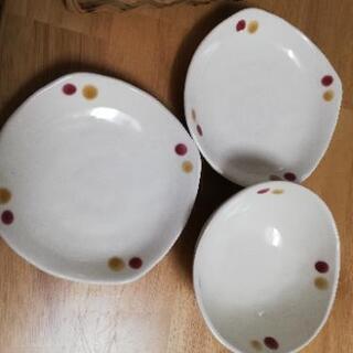 豆皿三枚セット ※未使用