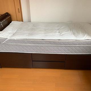ニトリで買ったシングルベッド