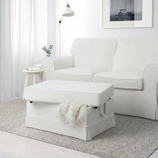 IKEA ソファ ソファカバー同色新品付き