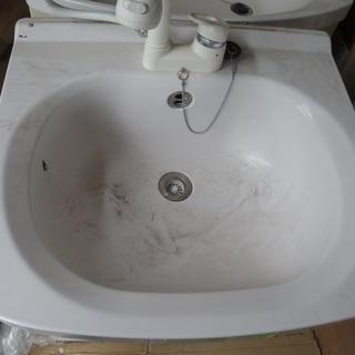 シャワー 洗面台  朝シャン ホーロー製洗面化粧台
