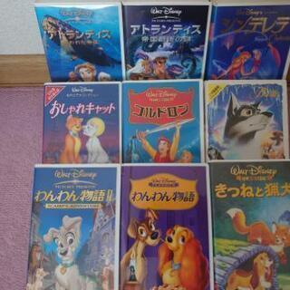※値下げしました VHSセット(ディズニー、ジブリ、ワーナー、他)