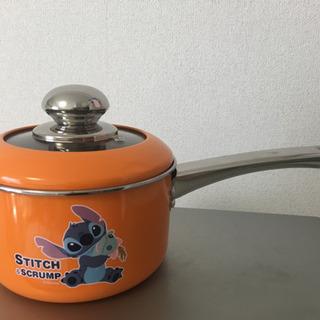 スティッチ 片手鍋