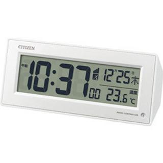 【値下げ】シチズン デジタル 目覚まし時計 未使用
