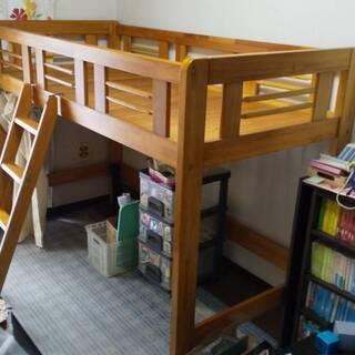 ロフトベッド 木製