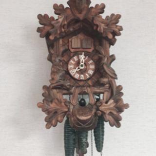 スイス製の鳩時計
