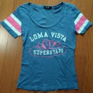 LA Tシャツ ブルー