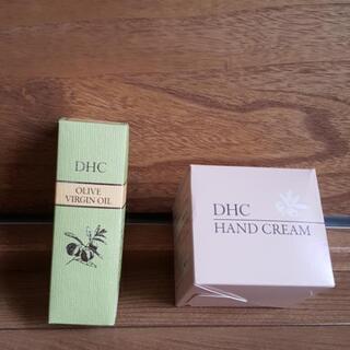 DHC オリーブバージンオイル30ml&薬用ハンドクリーム(L)